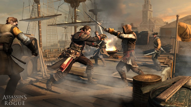 Assassin's Creed Rogue Gets New Gameplay Videos