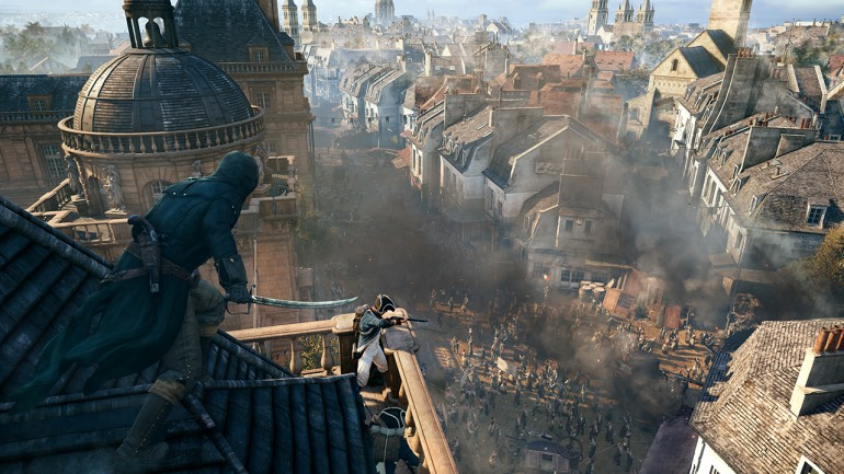 Assassin's Creed Unity Paris Horizons Gamescom Trailer